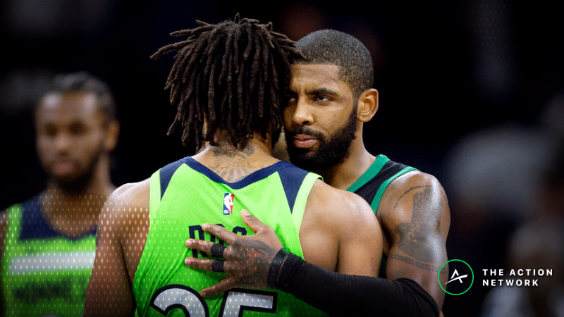 Nba Injury Report Betting Dfs Impact Of Kyrie Irving Derrick